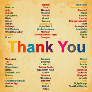 agradecimiento